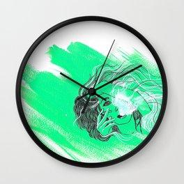 """""""Fumes"""" Wall Clock"""