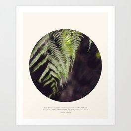 Rearranged  Art Print