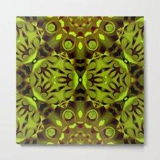 kaleidoscope Flower G187 Metal Print
