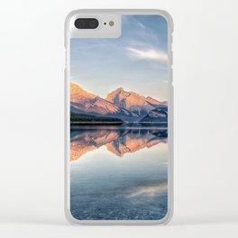 Symphony of Stillness Clear iPhone Case