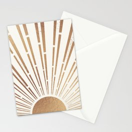Sun Shines Inside you-Gold Edition Stationery Cards