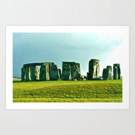 Stonehenge Art Print