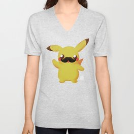 Moustachu Movember 2015 Unisex V-Neck