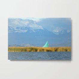 Titicaca sail 1 Metal Print