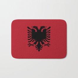 albania country flag Bath Mat