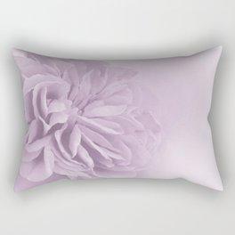 Light Lilac Rose #6 #floral #art #society6 Rectangular Pillow