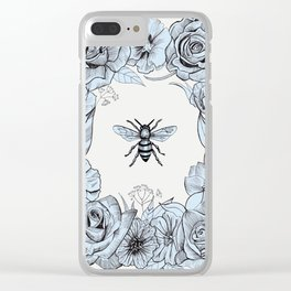Save the Bees Clear iPhone Case