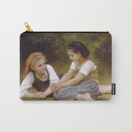 Adolphe William Bouguereau - Les Noisettes Carry-All Pouch