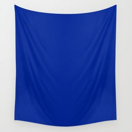 Imperial Blue - solid color Wall Tapestry