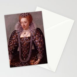 Portrait of Queen Elizabeth I Stationery Cards