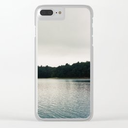 Cool Shades on Walden Pond - 35mm Film Clear iPhone Case