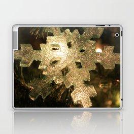 Sparkling Snowflake Laptop & iPad Skin
