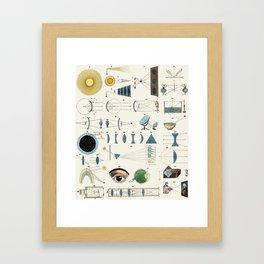Optics Framed Art Print