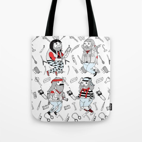 ON THE VARIATION OF TOUGHER FRIENDS I WISH I HAD Tote Bag