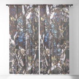 Pyroxene and Feldspar Sheer Curtain