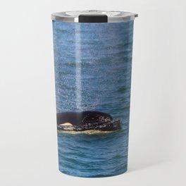 A Killer Whale in the San Juan Islands, WA Travel Mug