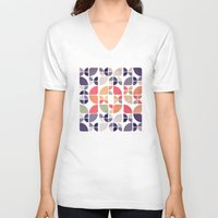 joy V-neck T-shirts featuring Joy by VessDSign