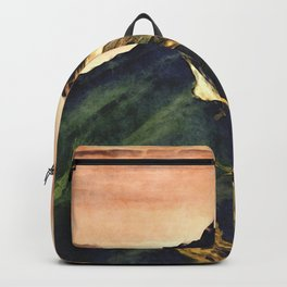 Mountains In The Clouds Backpack