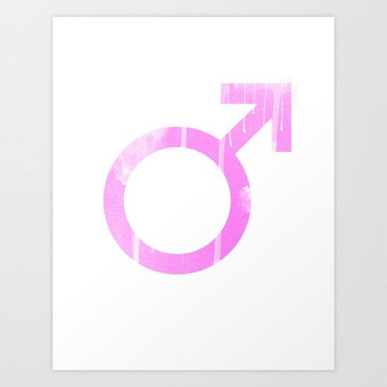 Homme Art Print
