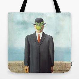 The Apple man Tote Bag