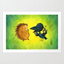 Friendship Pt. 2 Art Print