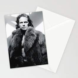 sam heughan Stationery Cards