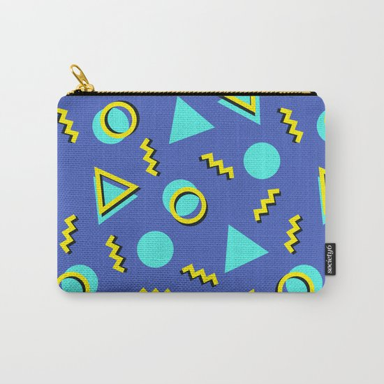 Memphis pattern 63 Carry-All Pouch