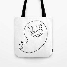 Ghost Boy Tote Bag