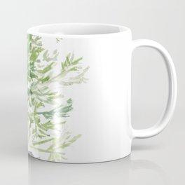 Christmas Tree in Galvanized Bucket Coffee Mug