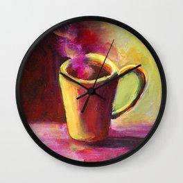 Coffee Cup Study No. 1 Wall Clock