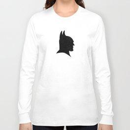The Bat-Man Silhouette Long Sleeve T-shirt