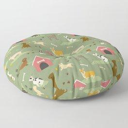 Dog Days Floor Pillow