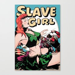 Slave Girl Canvas Print
