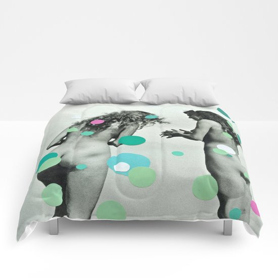 Chasing Bubbles Comforters
