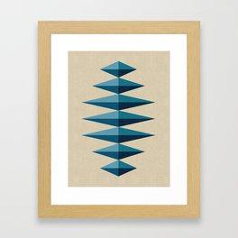 Modern Geometry XV Framed Art Print