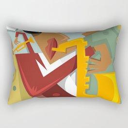 a band Jazz Rectangular Pillow