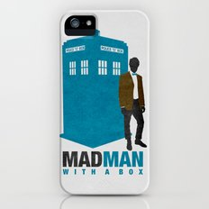 MAD MAN With A Box iPhone (5, 5s) Slim Case