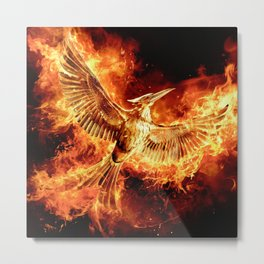 MOCKINGJAY: PART II Metal Print