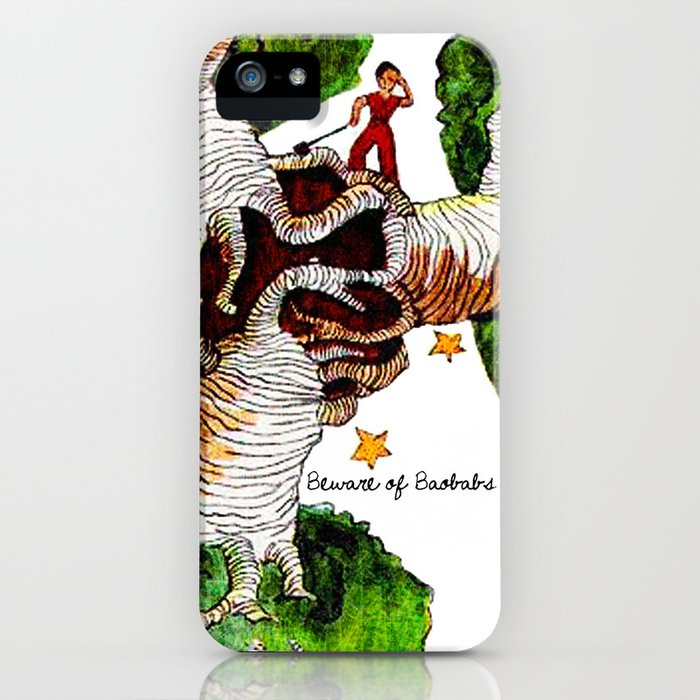 The Little Prince: Beware of Baobabs iPhone Case