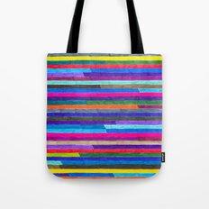 Broken Stripes Tote Bag
