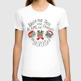 Festive Cats T-shirt