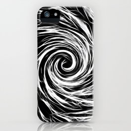 Future Abstract -BW- iPhone Case