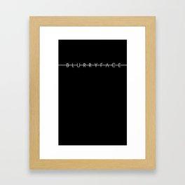 BLURRYFACE Framed Art Print