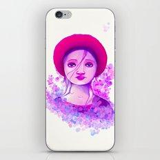 Sad Purple iPhone & iPod Skin