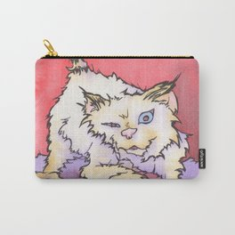 Scream the Cat Carry-All Pouch