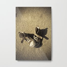 Lost shoes Metal Print