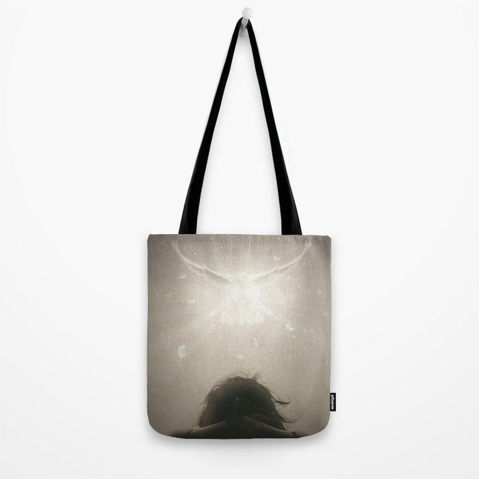 A blinding light Tote Bag