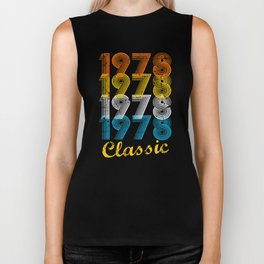 39th Birthday Gift Vintage 1978 T-Shirt for Men & Women T-Shirts and Hoodies Biker Tank