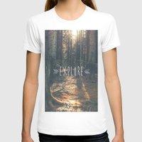 explore T-shirts featuring Explore by grafik ' prod
