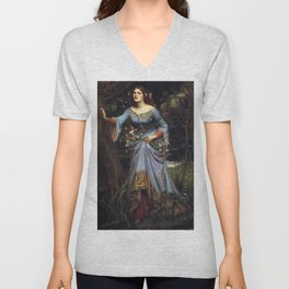 John William Waterhouse Ophelia 1894 Unisex V-Neck